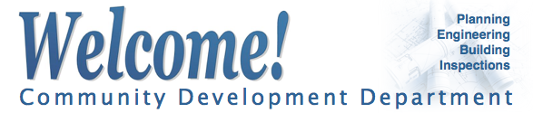 Welcome to Community Development page header banner