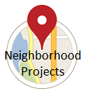 Widget image. Neighborhood Projects link