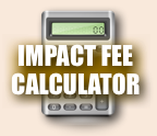 Widget image. Impact Fee Calculator link