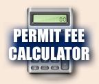 Widget image. Permit Fee Calculator link