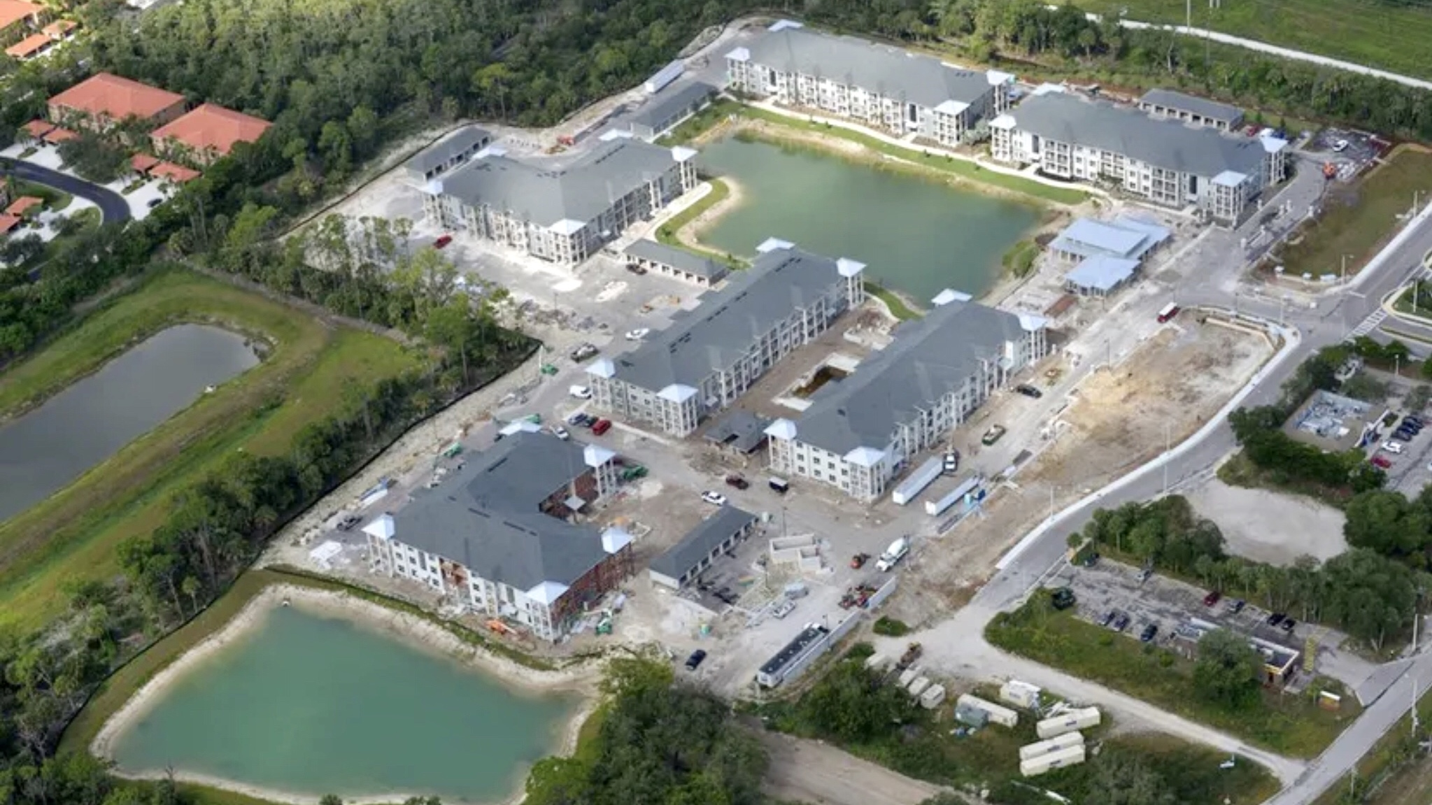 Picture of development site